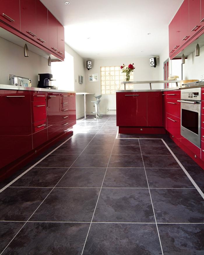 Vinyl Fliesen Küche | Toiletten | Abenteuer Bau