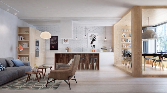 Offene Küche Ideen So richten Sie eine moderne Küche ein - inneneinrichtungsideen wohnzimmer kuche