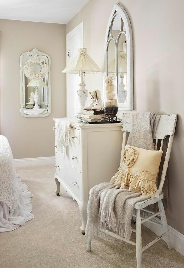 Schlafzimmer Creme Wei ~ Kreative Deko-Ideen und Innenarchitektur - schlafzimmer creme wei