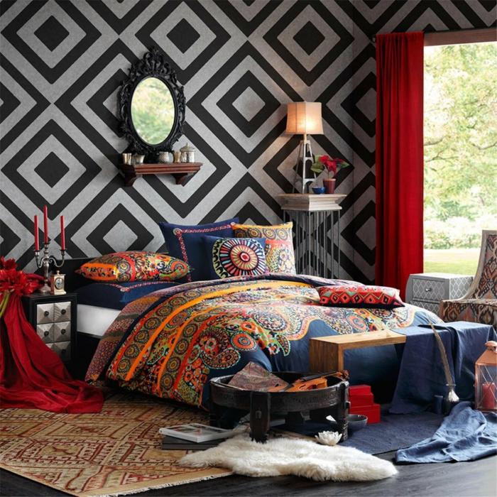 Kinderzimmer Junge Farbe Schwarz ~ Inneneinrichtung und Möbel - schlafzimmer einrichten spiele