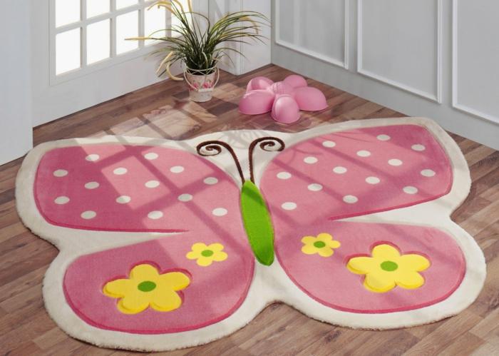 Teppich Schmetterling