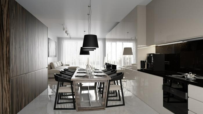 Modernes Esszimmer einrichten - 77 Ideen für Ihre Esszimmereinrichtung - mobel furs esszimmer essgruppe gestalten