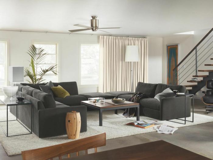 Wohnzimmer modern einrichten - 59 Beispiele für modernes Innendesign - inneneinrichtung wohnzimmer modern