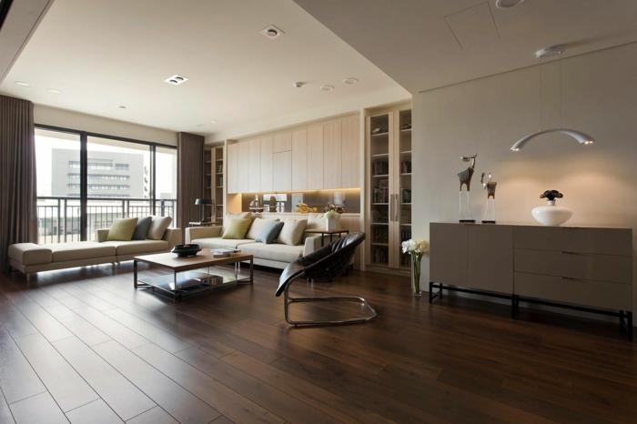 Wohnzimmer modern einrichten - 59 Beispiele für modernes Innendesign - wohnideen wohnzimmer modern