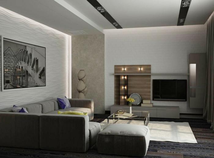 Wohnzimmer modern einrichten - 59 Beispiele für modernes Innendesign - wohnzimmer bilder modern