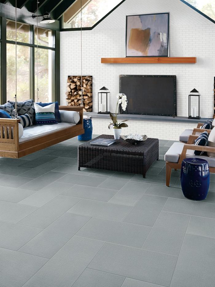 Wohnzimmer Grau Laminat | Laminat Fußboden Grau Weiß Holz ...