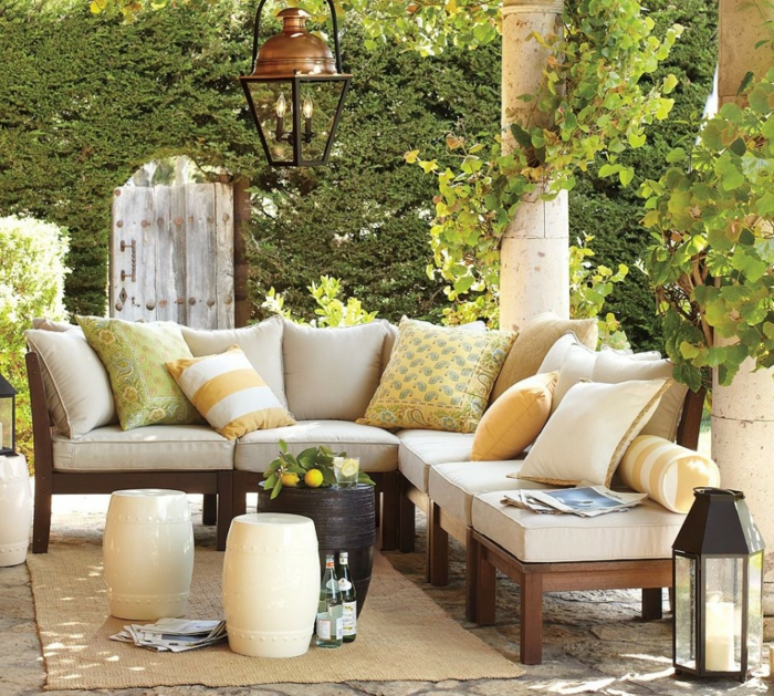 Ikea Gartenmöbel - 22 stilvolle Ideen für Ihren Außenbereich - lounge gartenmobel 22 interessante ideen fur paradiesischen garten