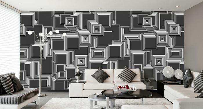 Wohnzimmer schwarz weiß  Wohnzimmer-schwarz-weis-orange-66. depumpink farbgestaltung ...
