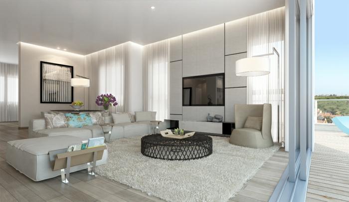 ▷ 1001+ Wohnzimmer einrichten Beispiele, welche Ihre Einrichtungslust - muster wohnzimmer