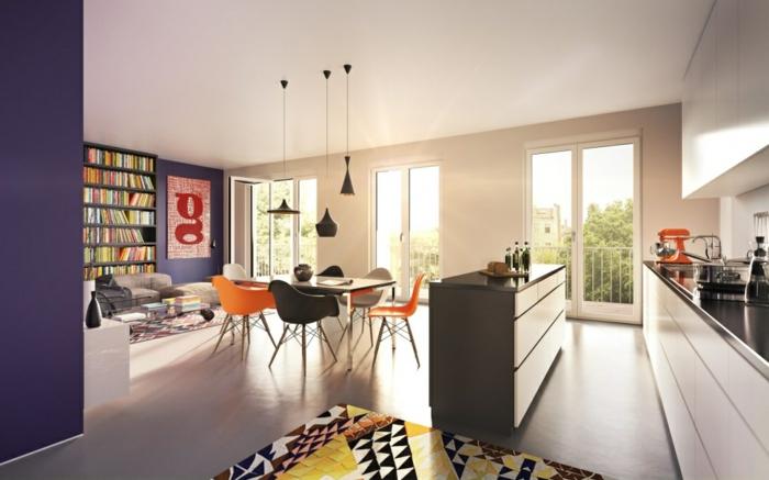 ▷ 1001+ Wohnzimmer einrichten Beispiele, welche Ihre Einrichtungslust - inneneinrichtungsideen wohnzimmer kuche