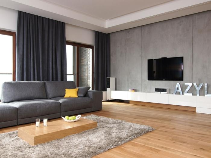 wohnzimmer ideen schwarzes sofa | node2009-hausdesign.paasprovider.com