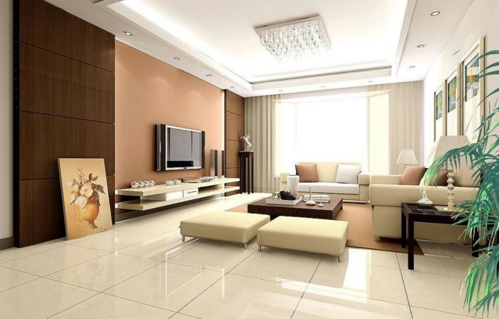 Wohnzimmer Fliesen - 86 Beispiele, warum Sie den Wohnzimmerboden - grose bodenfliesen