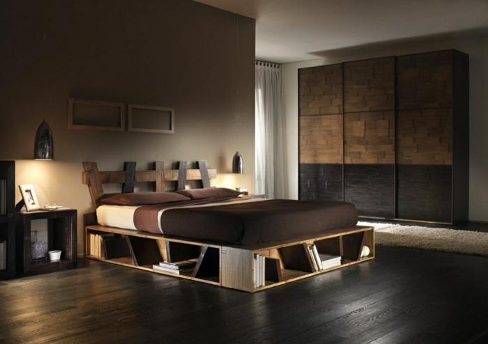 Noch 64 Schlafzimmer Ideen für Möbel aus Paletten - ideen schlafzimmer