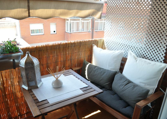 33 Ideen wie Sie den kleinen Balkon gestalten können - mini balkon gestalten