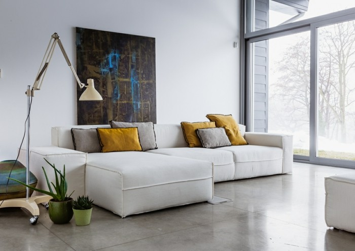 Wandbilder Wohnzimmer - 50 Ideen, wie Sie die Wohnzimmerwände mit - wandbilder wohnzimmer ideen