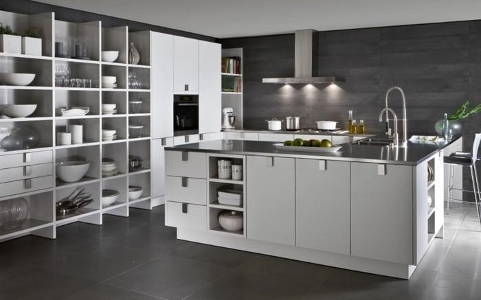 Moderne einbaukuche besticht durch minimalistische asthetik haus - moderne einbaukuche besticht durch minimalistische asthetik