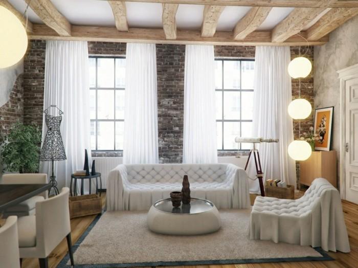 70 Ideen für Wandgestaltung - Beispiele, wie Sie den Raum aufwerten - wandgestaltung wohnzimmer beispiele