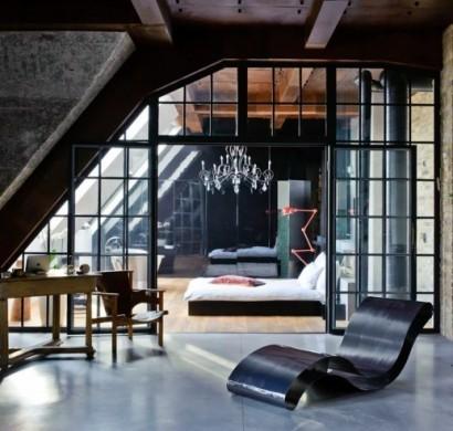 Best Futuristisches Interieur Loft Wohnung Gallery - Ridgewayng.com ...