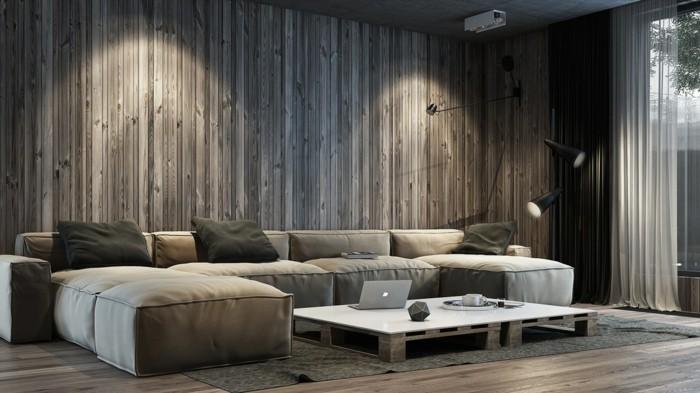 70 Ideen für Wandgestaltung - Beispiele, wie Sie den Raum aufwerten - gestaltungsideen wohnzimmer