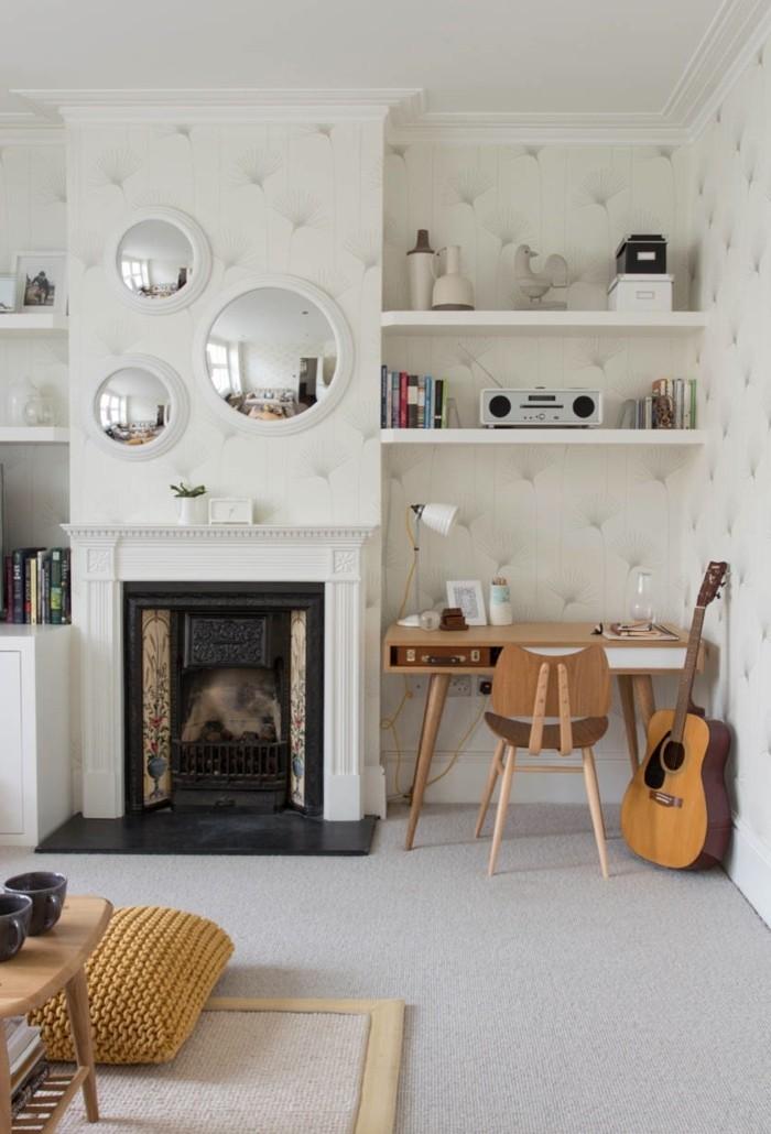 Fall Cottage Wallpaper Einrichtungsideen Wohnzimmer Wie Sie Den Wohnbereich Mit
