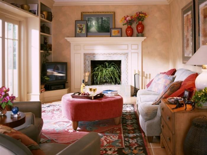 Wohnideen Mit Teakholz Im Wohnzimmer - Wohndesign
