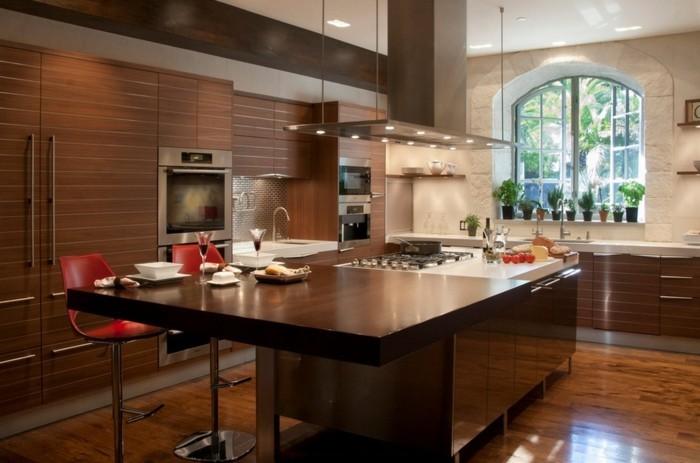 Moderne Kuche Einrichten Ausstatten Villawebinfo   Kuhlschrank Finden Tipps  Trendsetter Kuche