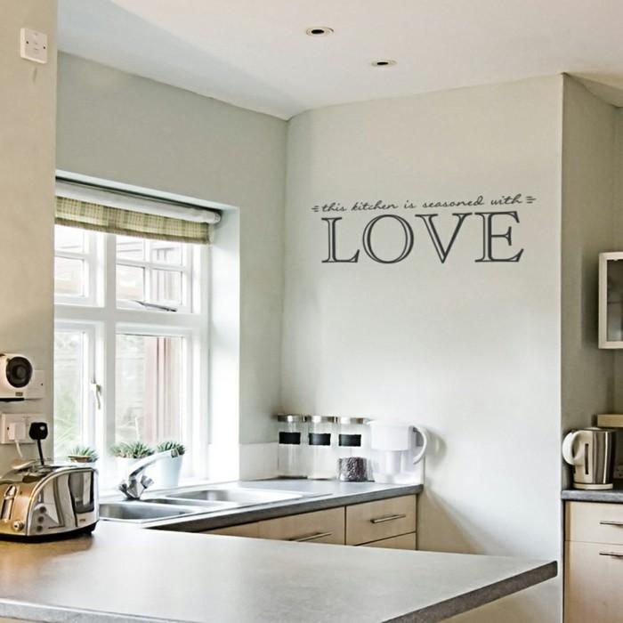 Küchenwand Dekorieren