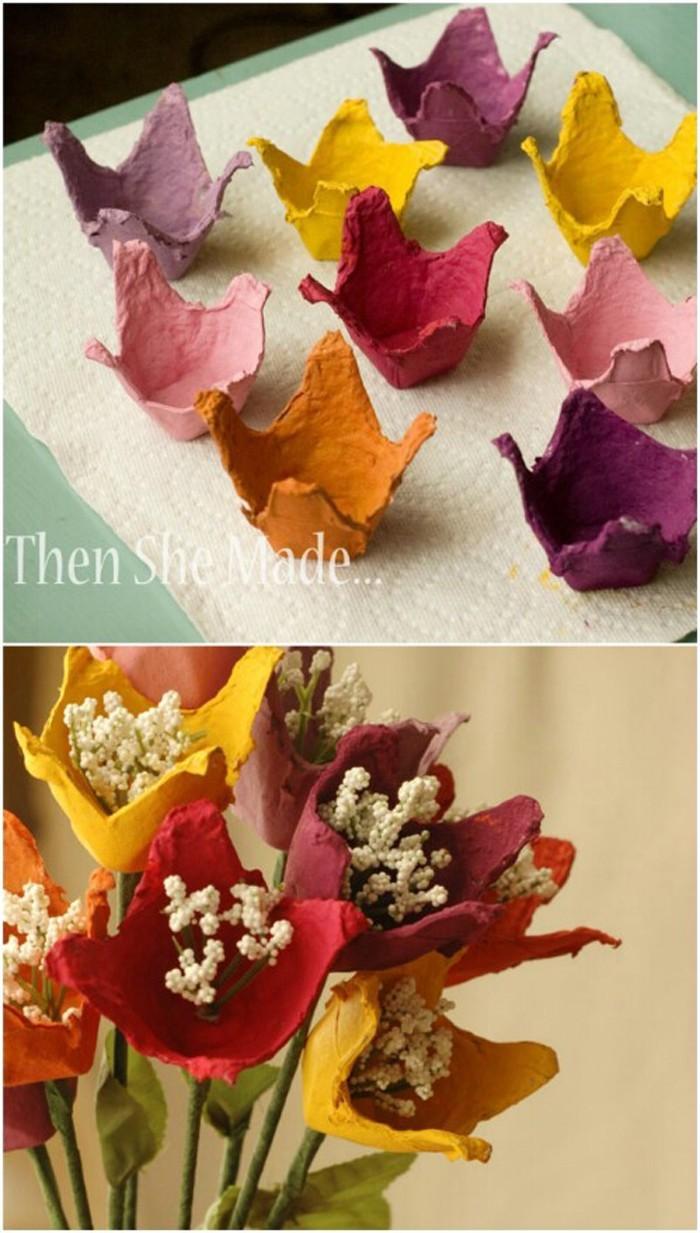 Basteln Fruhling Blumen Fensterdeko Fruhling Neue Youtube Avec