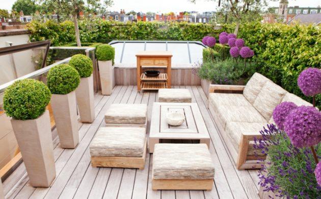 1000 Ideen Fur Moderne Terrassengestaltung Aus Stein Holz