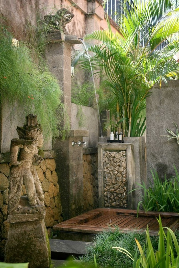 Ideen gartendusche design erfrischung  Beautiful Dusche Im Garten Erfrischung Sommer Photos - House ...