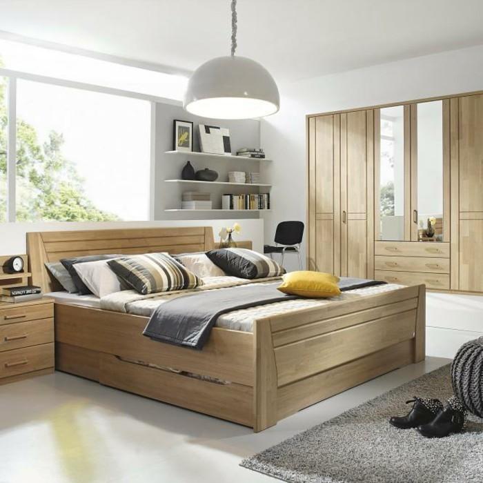 moderne schlafzimmer ideen ? stilvoll mit designer-flair ...