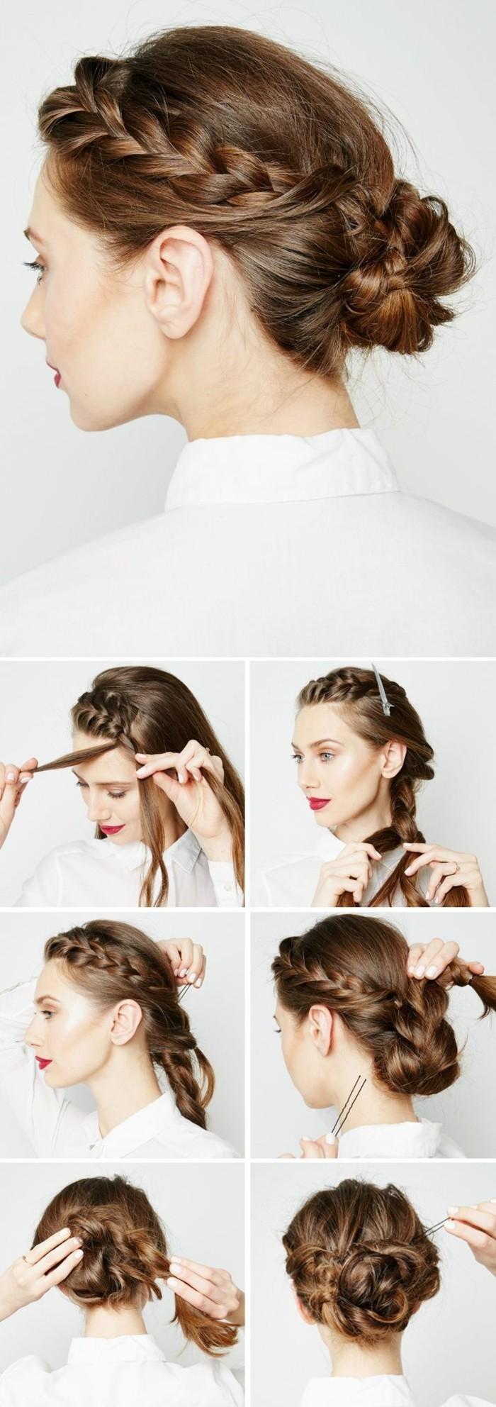 Frisuren Hochsteckfrisur Die Frisur Von Chloe Grace Moretz