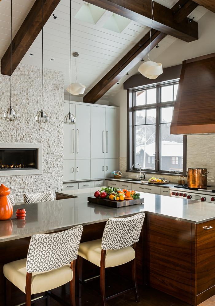 Dachschräge Küche Ideen