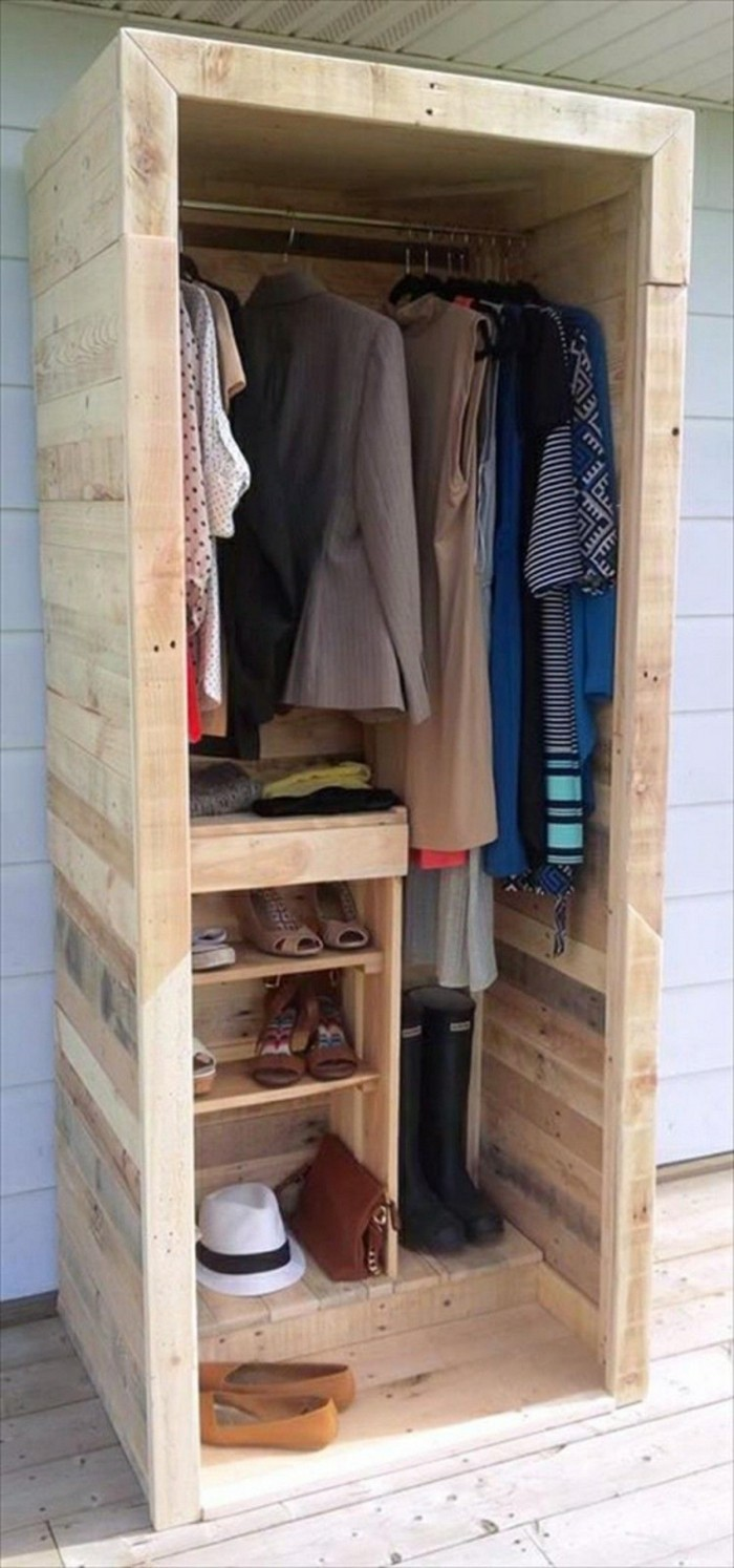 m bel aus paletten garderobe garderobe aus europaletten. Black Bedroom Furniture Sets. Home Design Ideas