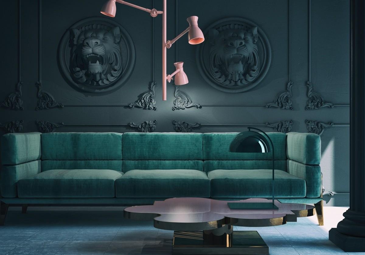 Farbkombinationen Wohnzimmer Grun Moderne Wandfarben Grun