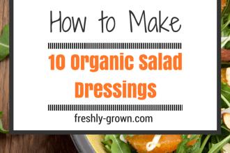 How to Make 10 Organic Salad Dressings