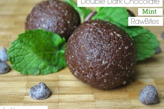 Double Dark Chocolate Mint RawBites