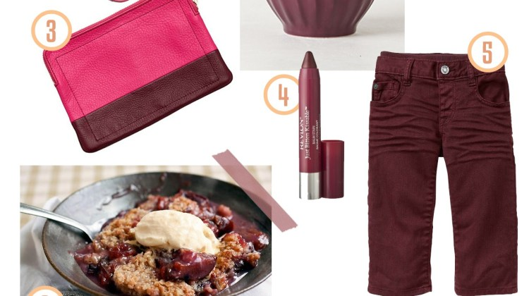 Plum Style Inspiration from Fresh Mommy Blog