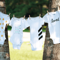 Make // DIY Tiny Baby Onesies