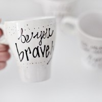 Make // DIY Painted Inspiration Mug