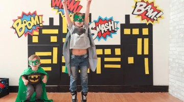 Brayden's Superhero Lego Birthday Party-39