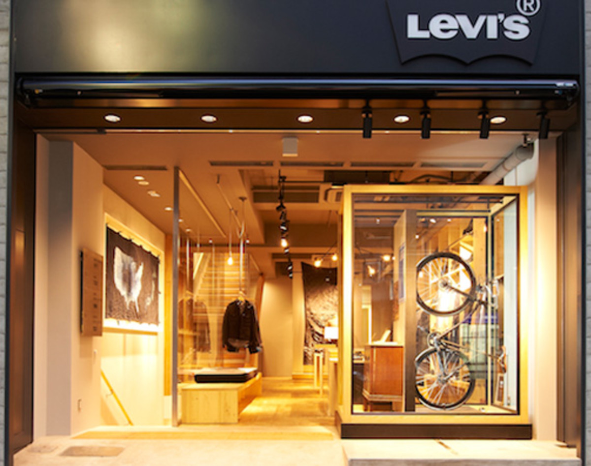 Levis Shop Levi's Store Shinjuku – Officially Opens | Tokyo ...