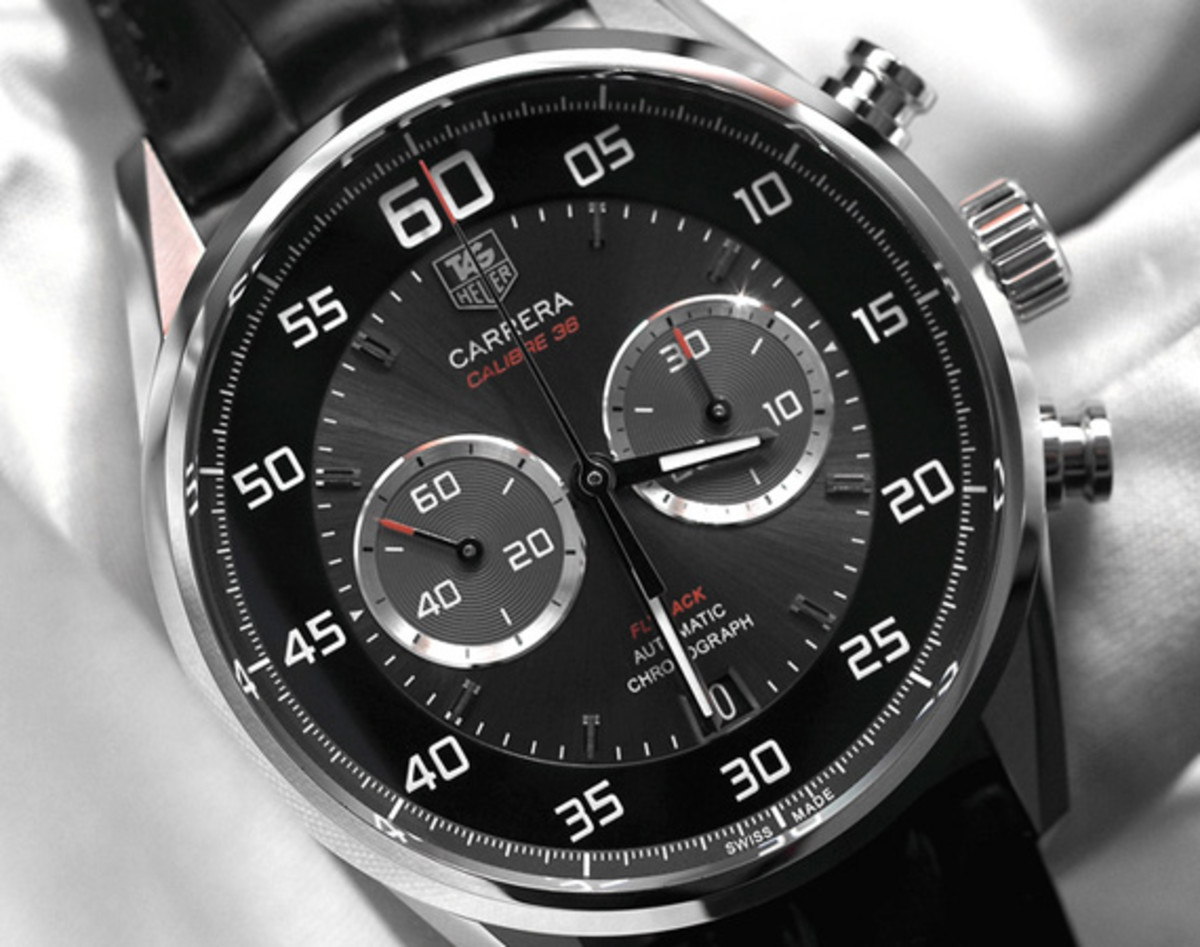 Tag Heuer Calibre 16 Tag Heuer Carrera Calibre 36 Flyback Chronograph Watch