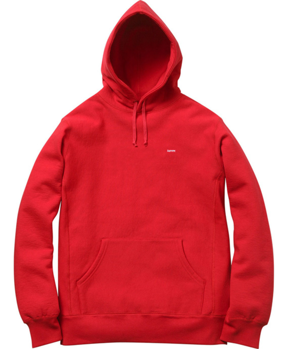 Nike Pullover Fleece Supreme Small Box Logo Pullover Hoodies Available Now