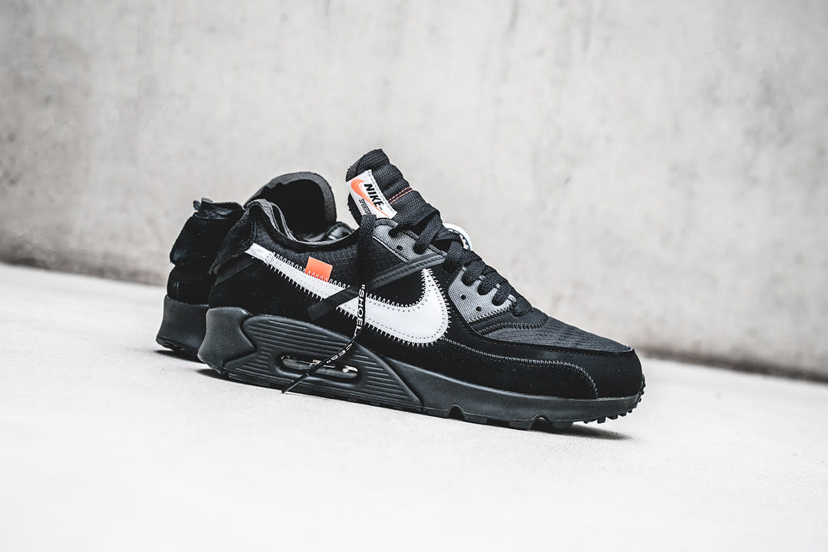 Air Max X Off White Black Off White X Nike Air Max 90 Releasing Next Week In