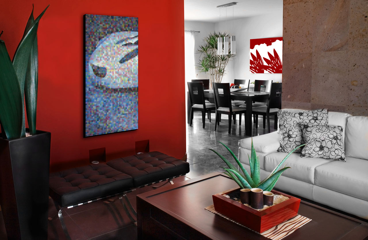 Wohnzimmer Gestalten Farbe 45 Home Interior Design With Red Decorating Inspiration