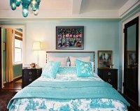 12 Fabulous Look Teal Bedroom Ideas | Freshnist