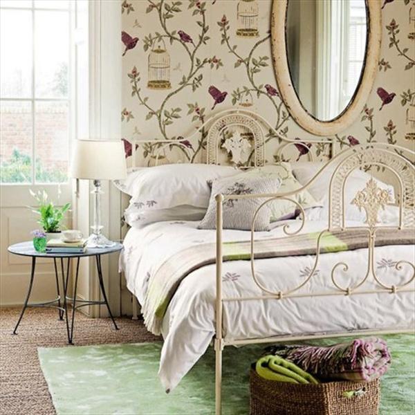 blending modern vintage bedroom ideas