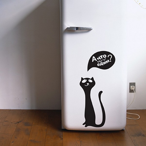 Cheap Black And White Wallpaper 12 Vinyl Stickers For Cat Lovers 1 Design Per Day