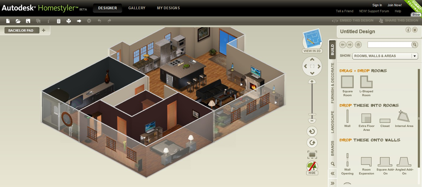 Homestyler Free Kitchen Design Software Autodesk Announces Free Design Software For Schools Worldwide